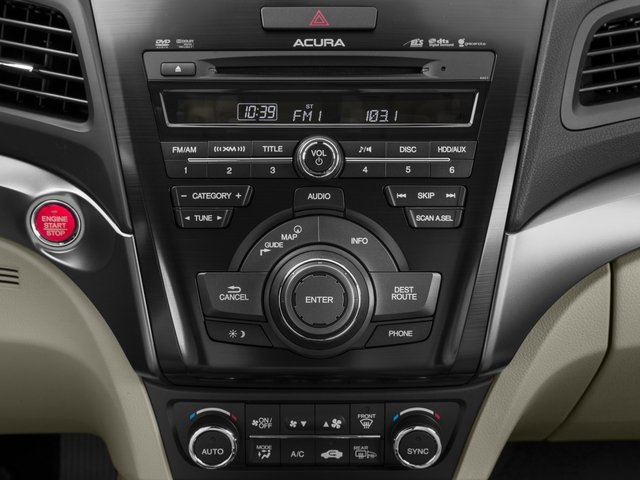 2015 Acura ILX Prices and Values Sedan 4D Technology I4 stereo system