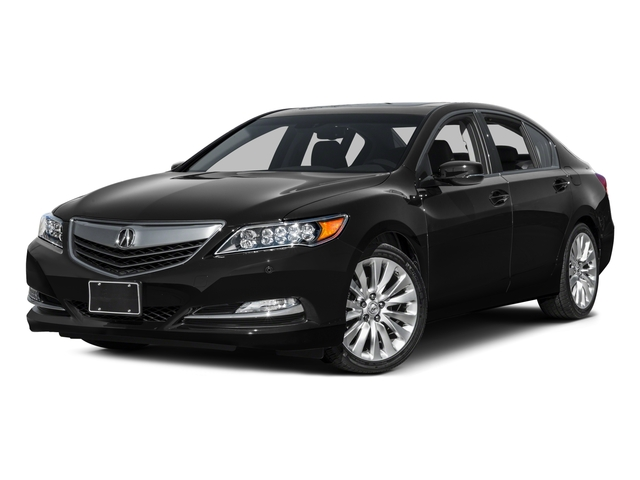 2015 Acura RLX Prices and Values Sedan 4D Advance V6 side front view