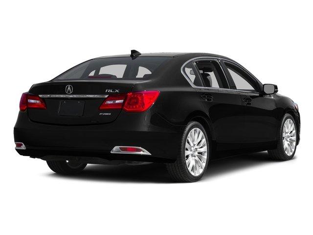 2015 Acura RLX Pictures RLX Sedan 4D Advance V6 photos side rear view