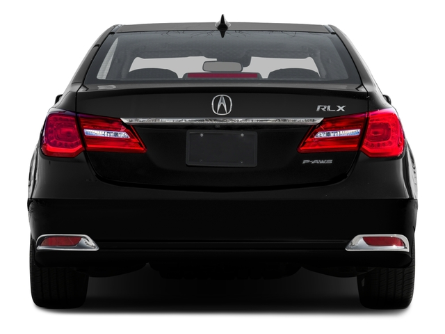2015 Acura RLX Prices and Values Sedan 4D Advance V6 rear view
