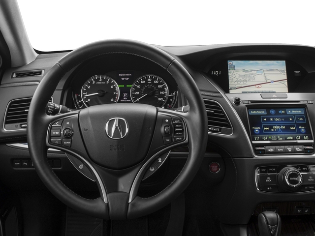 2015 Acura RLX Prices and Values Sedan 4D Advance V6 driver's dashboard
