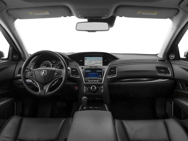 2015 Acura RLX Prices and Values Sedan 4D Advance V6 full dashboard