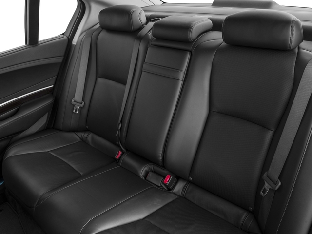 2015 Acura RLX Prices and Values Sedan 4D Advance V6 backseat interior