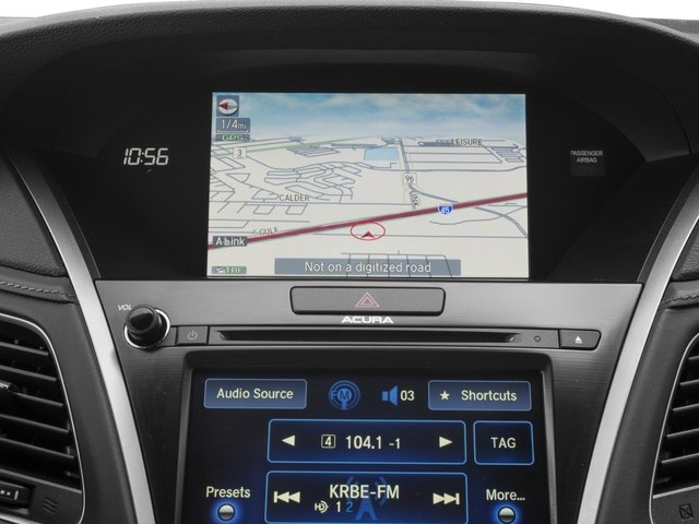 2015 Acura RLX Prices and Values Sedan 4D Advance V6 navigation system