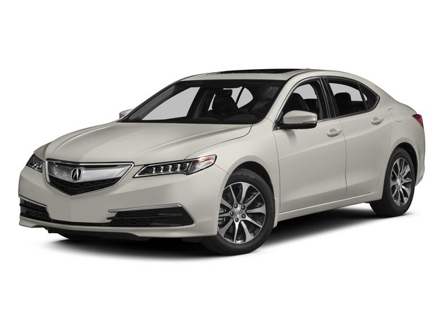 2015 Acura TLX Prices and Values Sedan 4D Technology I4 side front view