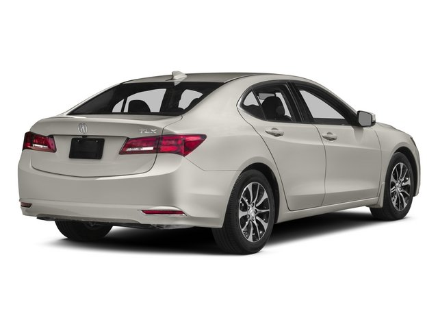 2015 Acura TLX Pictures TLX Sedan 4D Technology I4 photos side rear view