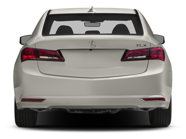 2015 Acura TLX Prices and Values Sedan 4D Technology I4 rear view