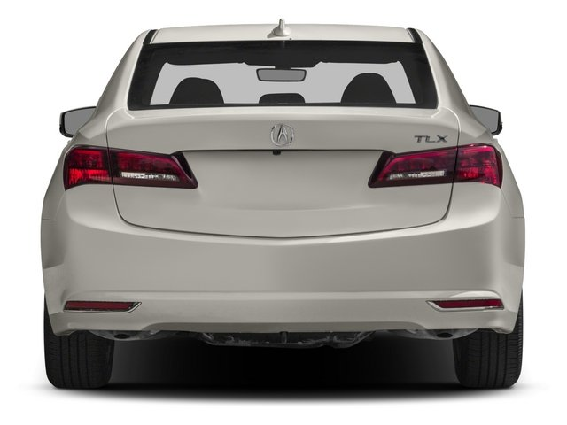 2015 Acura TLX Pictures TLX Sedan 4D Technology I4 photos rear view