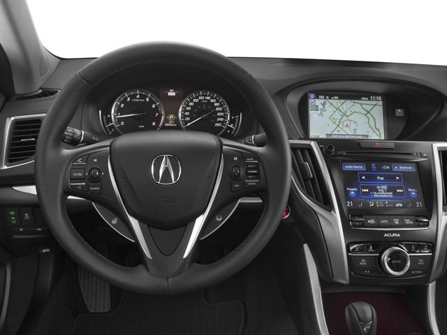 2015 Acura TLX Prices and Values Sedan 4D Technology I4 driver's dashboard