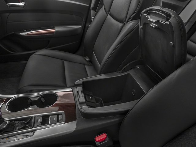 2015 Acura TLX Prices and Values Sedan 4D Technology I4 center storage console
