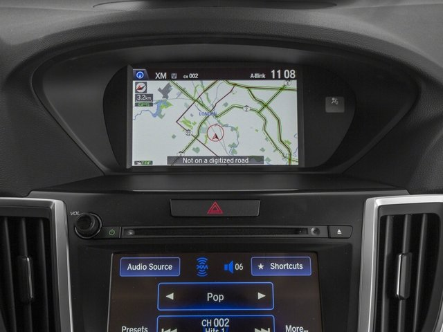 2015 Acura TLX Pictures TLX Sedan 4D Technology I4 photos navigation system