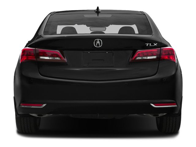 2015 Acura TLX Pictures TLX Sedan 4D Advance V6 photos rear view