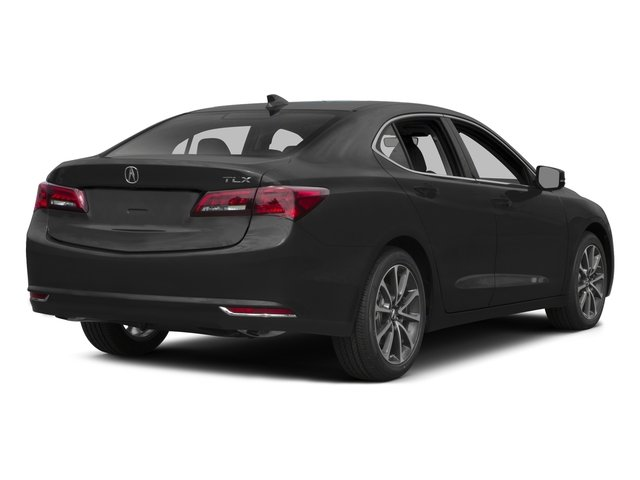 2015 Acura TLX Prices and Values Sedan 4D Technology V6 side rear view