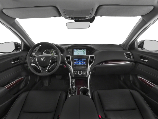 2015 Acura TLX Prices and Values Sedan 4D Technology V6 full dashboard