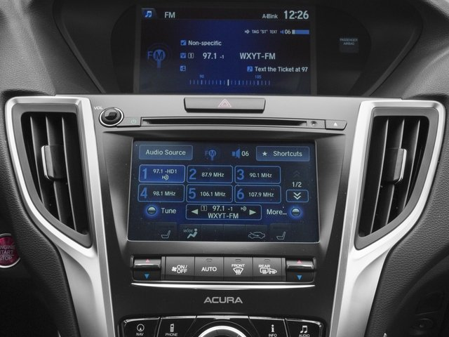 2015 Acura TLX Prices and Values Sedan 4D Technology V6 stereo system
