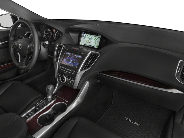 2015 Acura TLX Prices and Values Sedan 4D Technology V6 passenger's dashboard