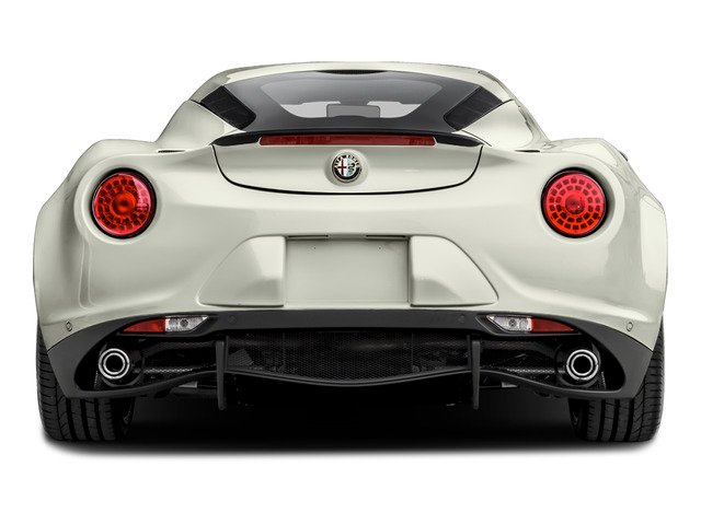 2015 Alfa Romeo 4C Prices and Values Coupe 2D Launch Edition I4 Turbo rear view