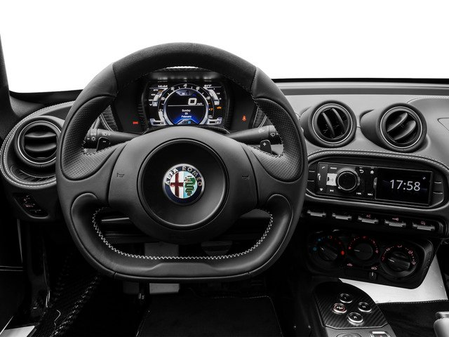2015 Alfa Romeo 4C Prices and Values Coupe 2D Launch Edition I4 Turbo driver's dashboard
