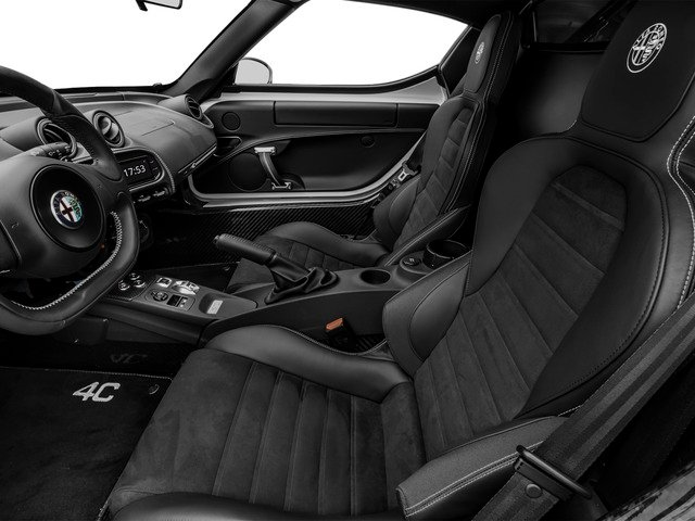 2015 Alfa Romeo 4C Prices and Values Coupe 2D Launch Edition I4 Turbo front seat interior