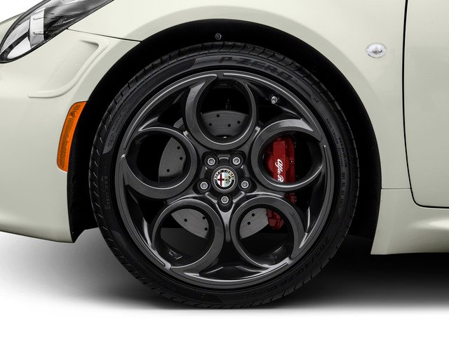2015 Alfa Romeo 4C Prices and Values Coupe 2D Launch Edition I4 Turbo wheel