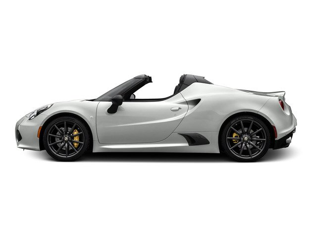 2015 Alfa Romeo 4C Prices and Values Convertible 2D Spyder I4 Turbo side view