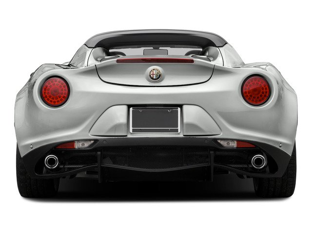 2015 Alfa Romeo 4C Prices and Values Convertible 2D Spyder I4 Turbo rear view