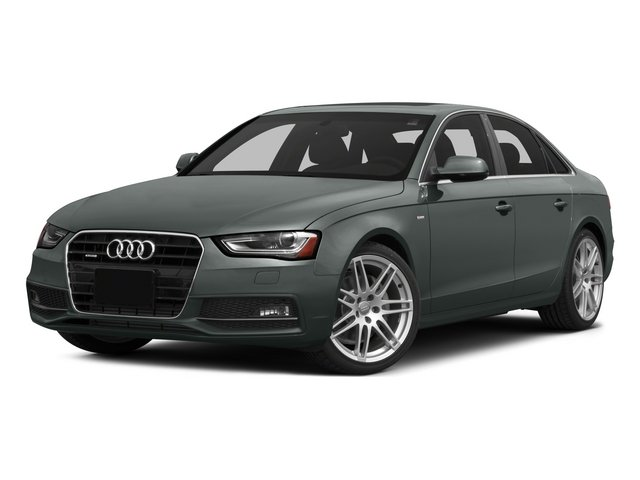 2015 Audi A4 Prices and Values Sedan 4D 2.0T Premium 2WD side front view