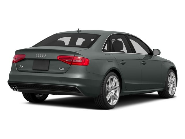 2015 Audi A4 Prices and Values Sedan 4D 2.0T Premium AWD side rear view