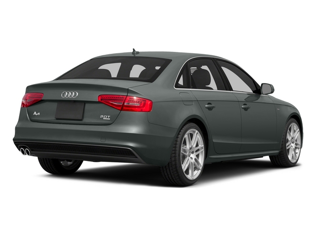 2015 Audi A4 Prices and Values Sedan 4D 2.0T Premium Plus AWD side rear view