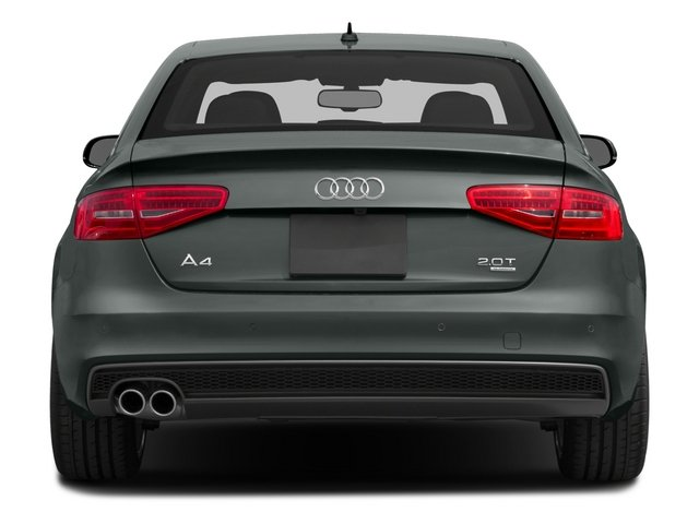 2015 Audi A4 Prices and Values Sedan 4D 2.0T Premium 2WD rear view