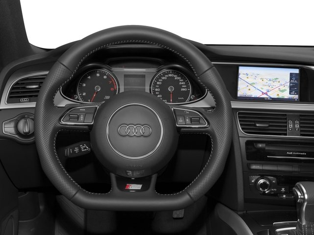 2015 Audi A4 Prices and Values Sedan 4D 2.0T Premium 2WD driver's dashboard