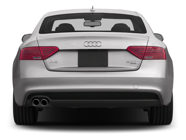 2015 Audi A5 Prices and Values Coupe 2D Premium Plus AWD rear view