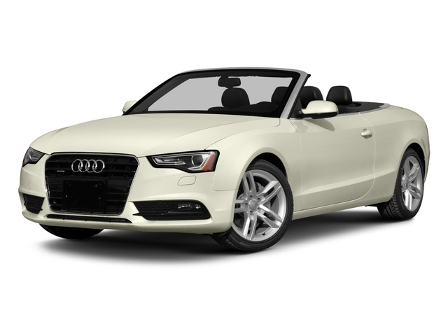 2015 Audi A5 Prices and Values Convertible 2D Premium AWD side front view