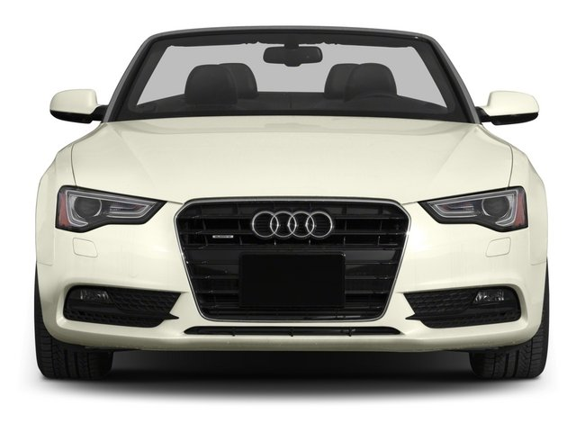 2015 Audi A5 Prices and Values Convertible 2D Premium Plus AWD front view