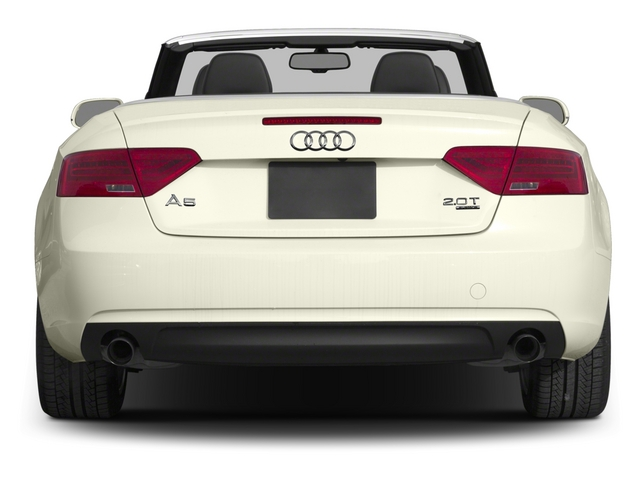 2015 Audi A5 Prices and Values Convertible 2D Premium Plus AWD rear view