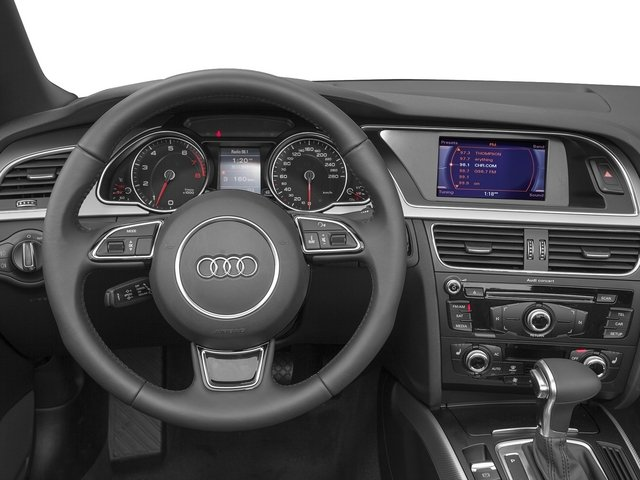 2015 Audi A5 Prices and Values Convertible 2D Premium Plus AWD driver's dashboard