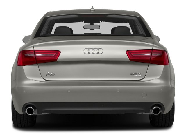 2015 Audi A6 Prices and Values Sedan 4D 3.0T Premium Plus AWD rear view