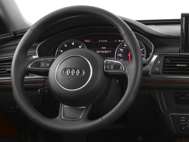 2015 Audi A6 Pictures A6 Sedan 4D TDI Prestige AWD photos driver's dashboard