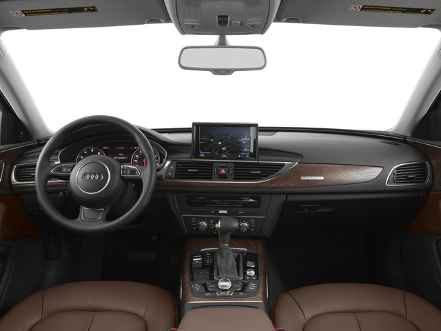 2015 Audi A6 Pictures A6 Sedan 4D TDI Prestige AWD photos full dashboard
