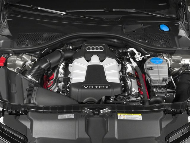 2015 Audi A6 Pictures A6 Sedan 4D 2.0T Premium 2WD photos engine