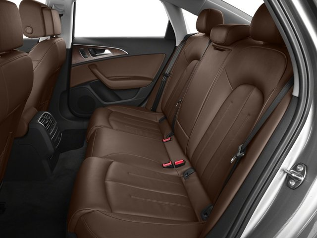 2015 Audi A6 Prices and Values Sedan 4D TDI Prestige AWD backseat interior