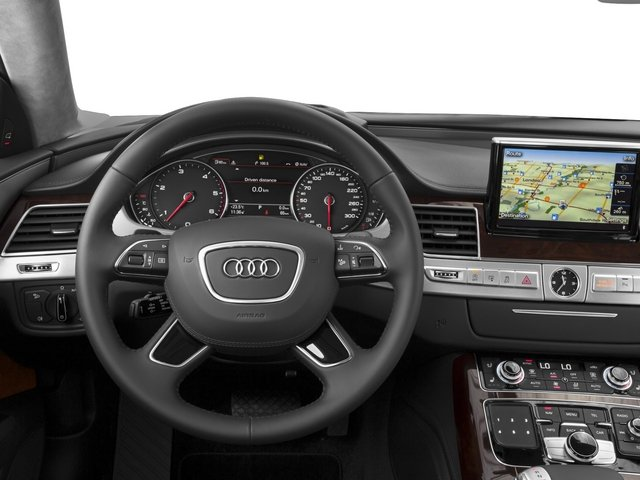 2015 Audi A8 Prices and Values Sedan 4D 4.0T AWD V8 Turbo driver's dashboard