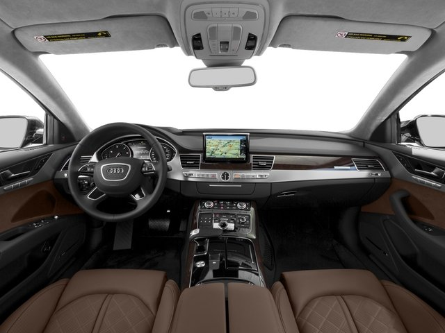 2015 Audi A8 Prices and Values Sedan 4D 4.0T AWD V8 Turbo full dashboard