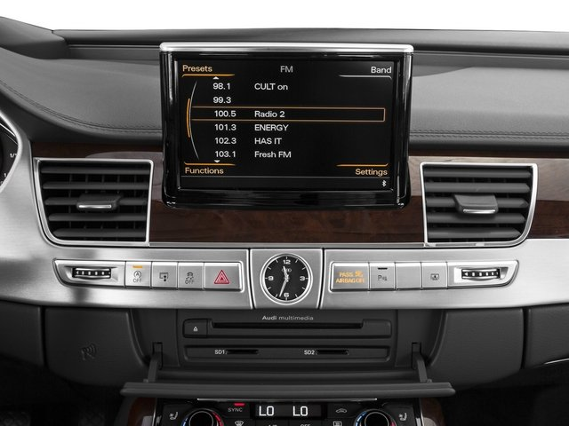 2015 Audi A8 Prices and Values Sedan 4D 4.0T AWD V8 Turbo stereo system