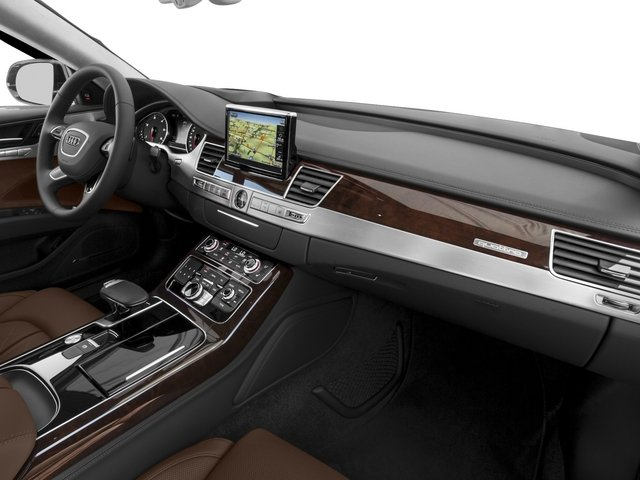 2015 Audi A8 Prices and Values Sedan 4D 4.0T AWD V8 Turbo passenger's dashboard