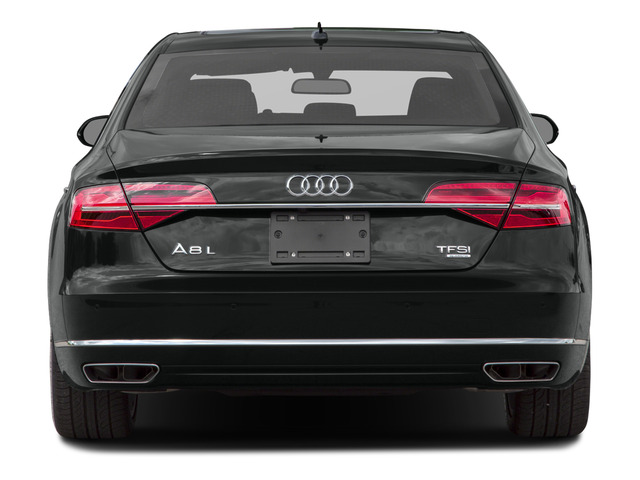 2015 Audi A8 L Prices and Values Sedan 4D 3.0T L AWD V6 Turbo rear view