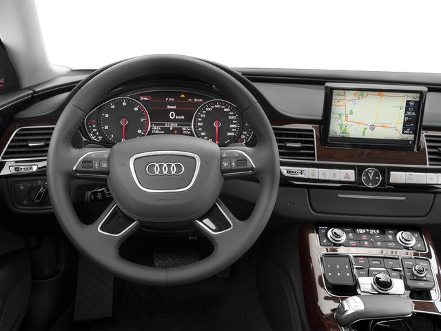 2015 Audi A8 L Prices and Values Sedan 4D 4.0T L AWD V8 Turbo driver's dashboard