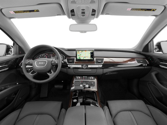 2015 Audi A8 L Pictures A8 L Sedan 4D TDI L AWD V6 photos full dashboard