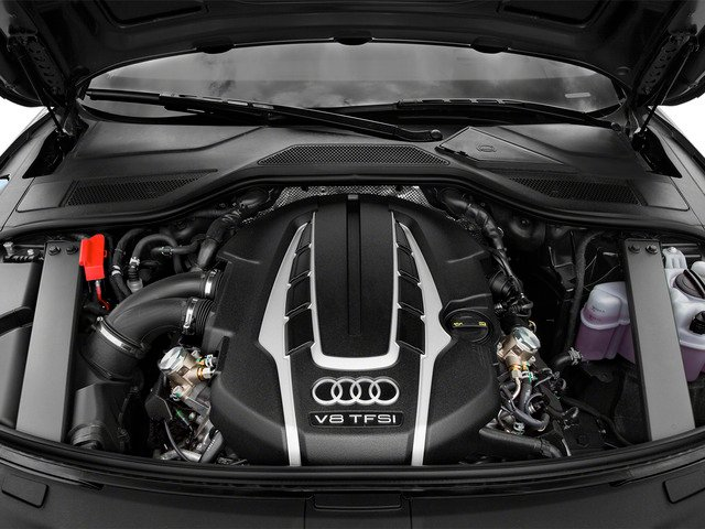 2015 Audi A8 L Pictures A8 L Sedan 4D 4.0T L AWD V8 Turbo photos engine