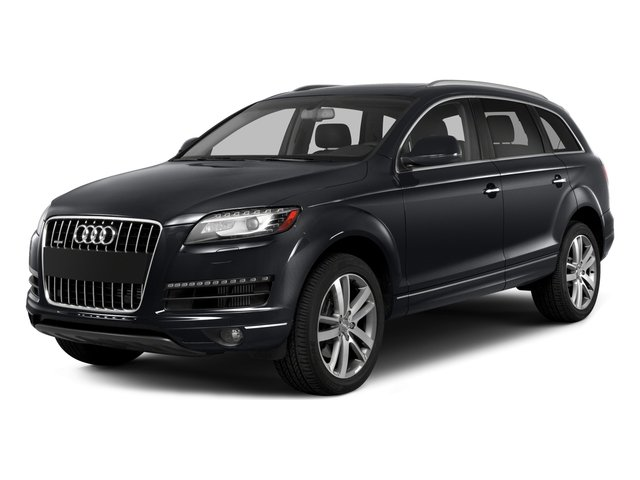 2015 Audi Q7 Prices and Values Utility 4D 3.0 TDI Premium Plus AWD side front view